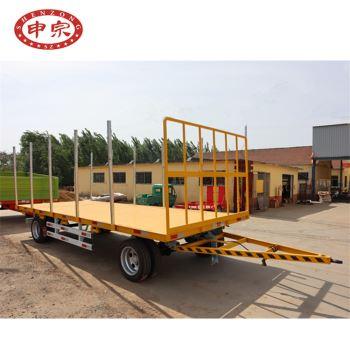 带护栏平板拖车