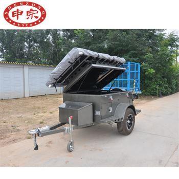0.5吨野营帐篷拖车