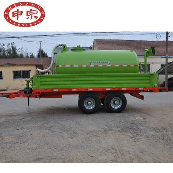 5吨两用污水罐拖车