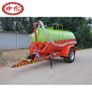 5吨污水罐拖车