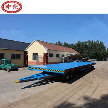 70吨重型平板拖车
