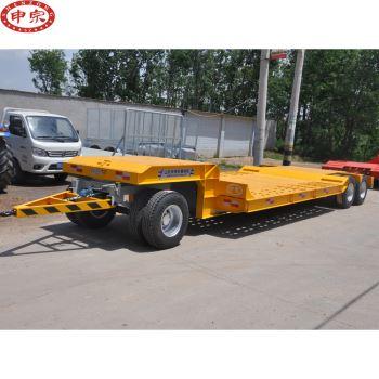 24吨超低挖掘机拖车