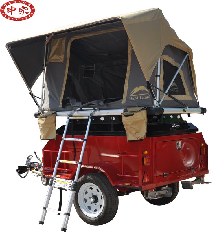 野营帐篷拖车